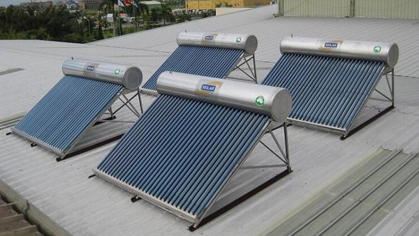 5 lý do nên mua máy nước nóng năng lượng mặt trời