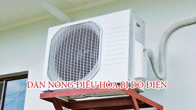 Nguyên nhân dàn nóng điều hòa inverter bị dò điện