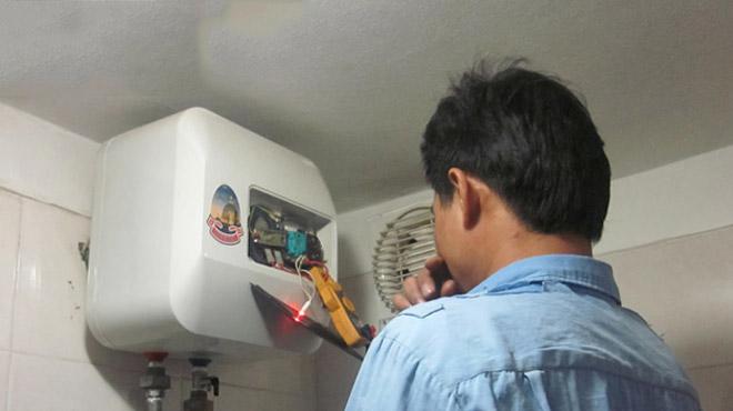 Cách khắc phục bình nóng lạnh bị chạm điện