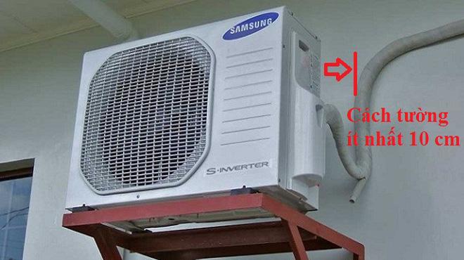 Tiêu chuẩn lắp dàn nóng điều hòa