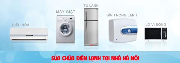 Sửa chữa điện lạnh tại Hà Nội