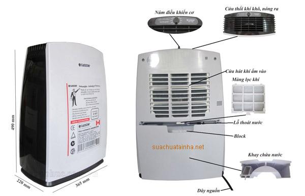 Sửa chữa máy hút ẩm tại Hà Nam