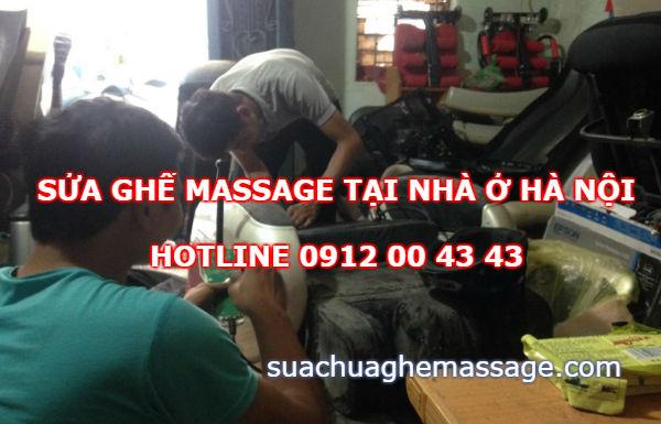 Sửa ghế massage tại nhà ở Hà Nội
