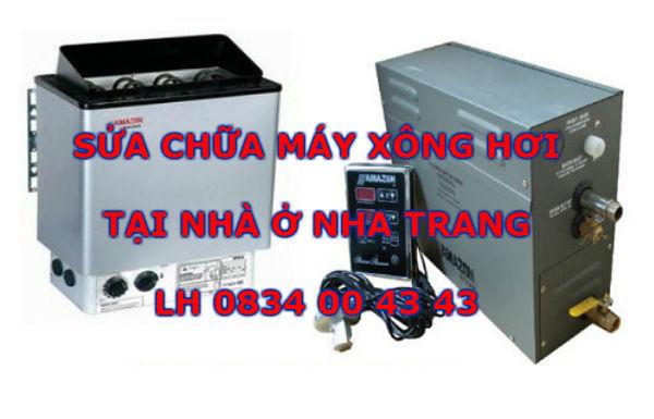 Mua bán sửa chữa máy xông hơi tại Nha Trang