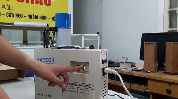 Dịch vụ sửa chữa lưu điện cửa cuốn tại Hà Nội