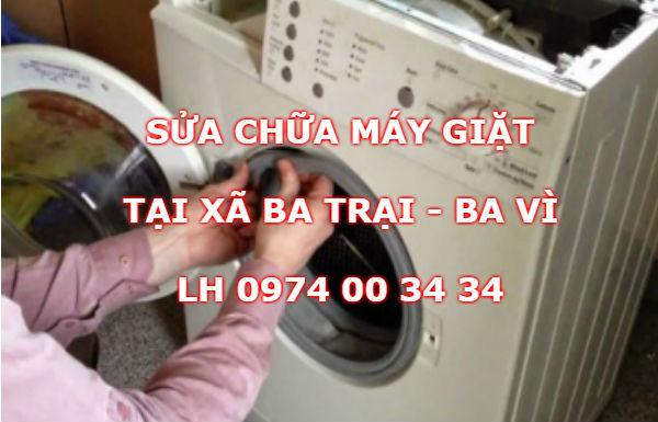 Sửa máy giặt tại Xã Ba Trại