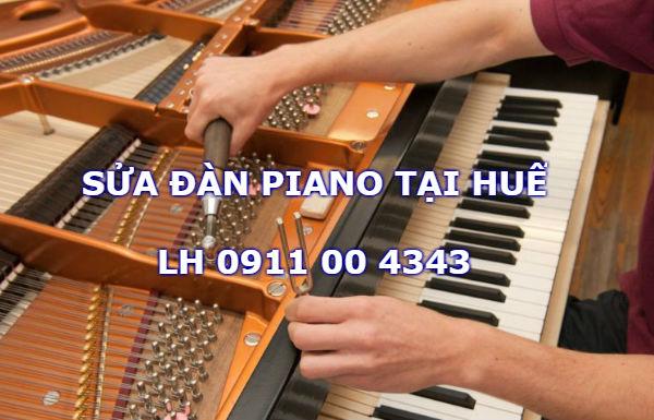 Sửa chữa đàn piano tại Huế