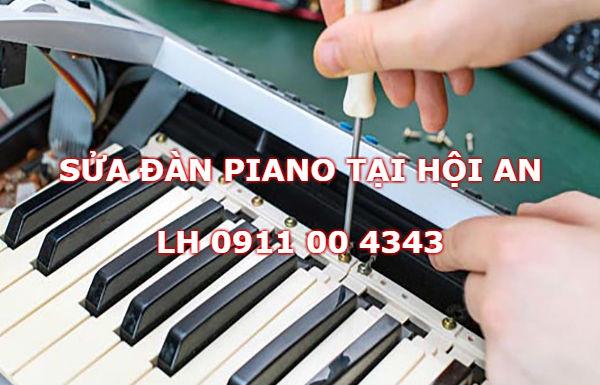 Sửa chữa đàn piano tại Hội An