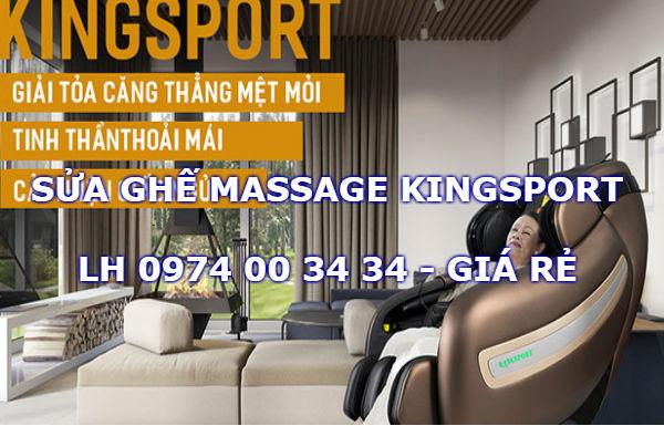 Sửa ghế massage toàn thân KingSport