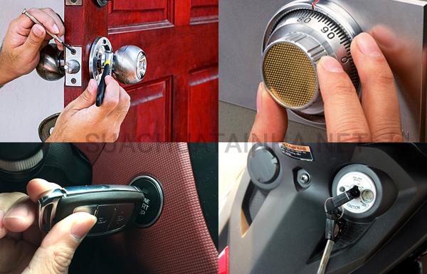 Sửa chữa khóa tại nhà
