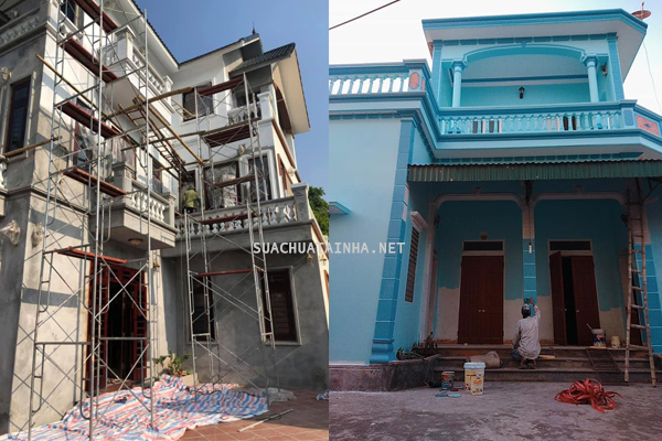Dịch vụ sơn nhà tại Hà Nam