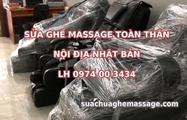 Sửa ghế massage nội địa Nhật