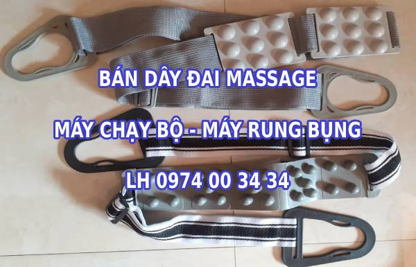 Dây đai massage máy chạy bộ