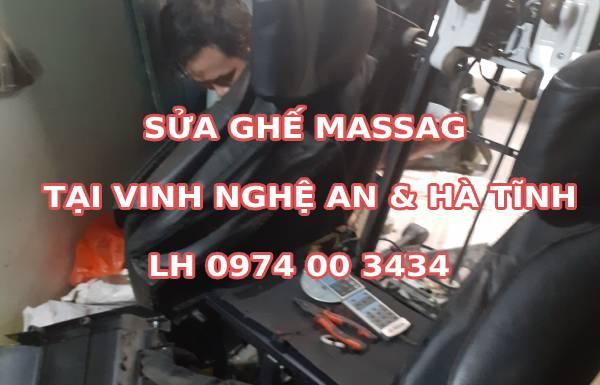 Sửa chữa ghế massage tại Vinh Nghệ An