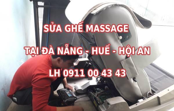 Sửa ghế massage tại Đà Nẵng