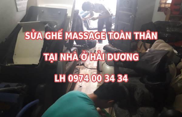 Sửa ghế massage tại Hải Dương