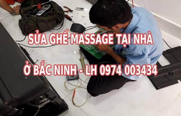 Sửa ghế massage tại Bắc Ninh