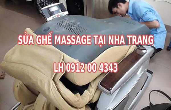 Sửa chữa ghế massage tại Nha Trang