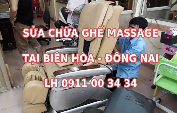 Sửa ghế massage tại TP Biên Hòa Đồng Nai